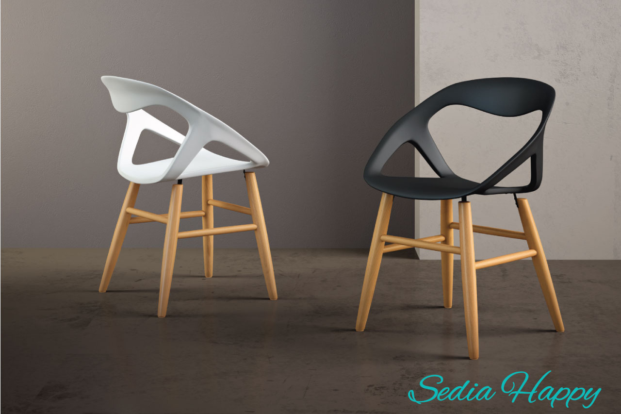 Sedie in plastica di design for Sedia design srl