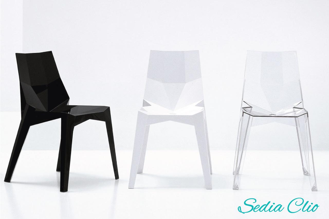 Sedie in plastica di design for Sedie in plastica design