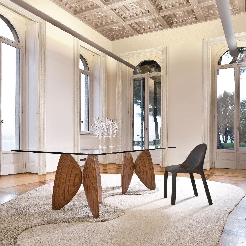 Tavoli di design in vetro e moderni come opere d 39 arte for Tavoli rettangolari di design
