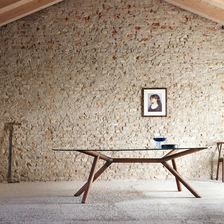 Tavoli di design in vetro e moderni come opere d 39 arte for Tavoli legno moderni
