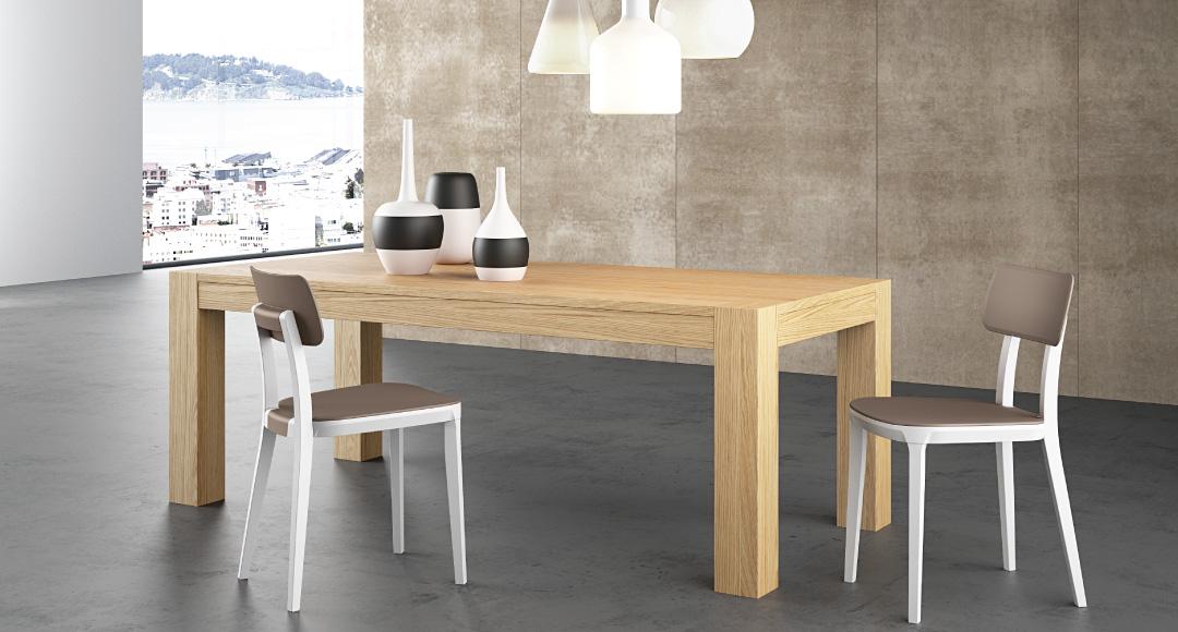 Tavoli in legno moderni allungabili affordable tavolo for Tavoli moderni in legno