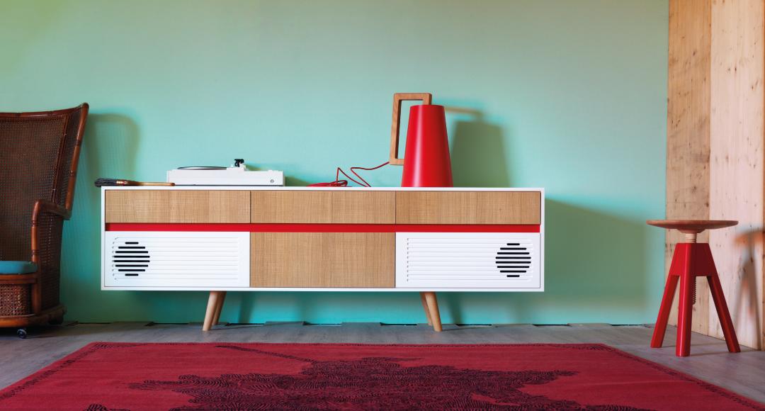 Arredare il soggiorno con mobili contenitori moderni for Mobili contenitori design